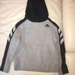 Boys Adidas hoodie, size 8